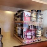 Vertical Spice Racks for Upper Cabinets.