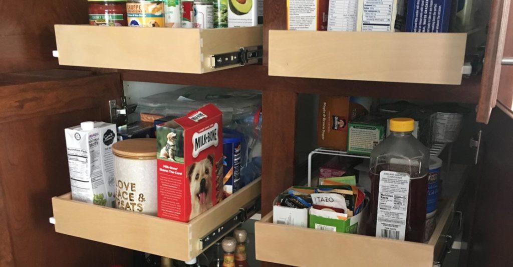 slide out shelves