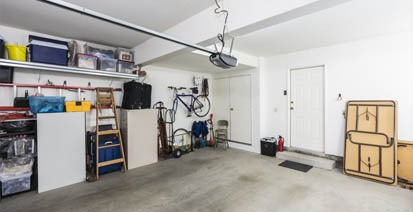 garage unorganized